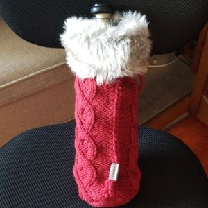 Ugg wine bottle carry bag